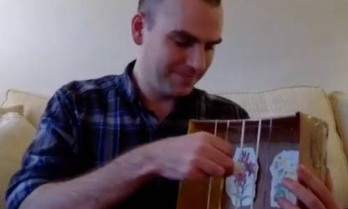 Make Musical Instruments with Cardboard Boxes
