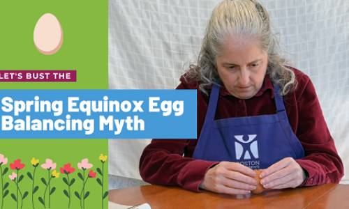 Myth Busters: Balancing an Egg on the Spring Equinox