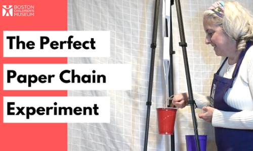 The Perfect Paper Chain Experiment